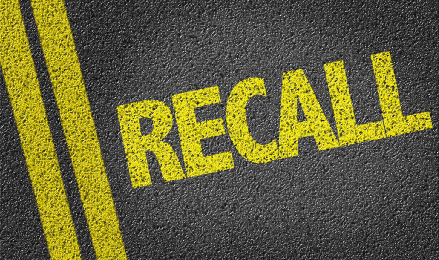 Safety Recall on Cars