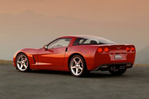 2005 Chevrolet Corvette rear view