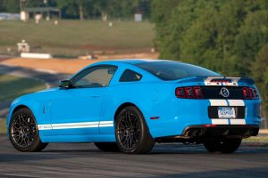 2013 Ford Mustang Shelby GT500 rear view