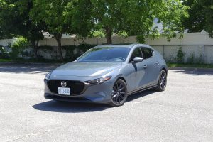 2019 Mazda3 Sport GT front view