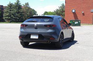 2019 Mazda3 Sport GT rear view