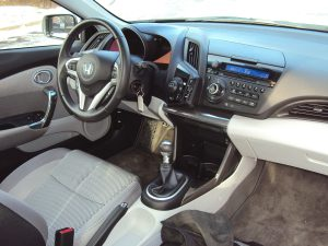Honda CR Z driver's seat