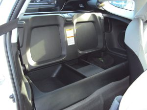 Honda CR Z rear seats open