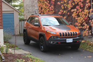 Jeep Cherokee front view