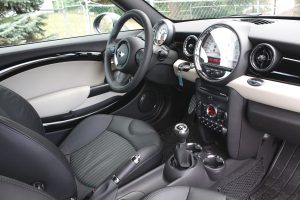 Mini Cooper Coupe driver's seat