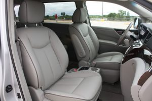Nissan Quest front seat