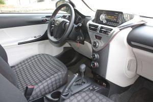Scion iQ driver's seat