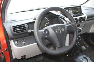 Scion iQ dashboard