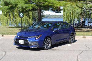 2020 Blue Toyota Corolla