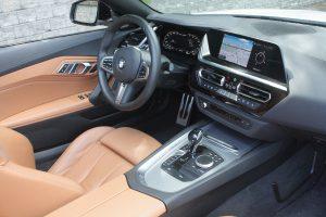 2020 BMW Z4 M40i driver seat
