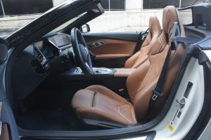 2020 BMW Z4 M40i front seat top down