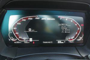 2020 BMW Z4 M40i odometer