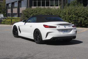 2020 BMW Z4 M40i rear view