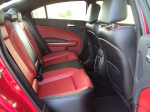 Dodge Charger rear seat
