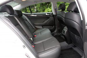 Kia Cadenza rear seat