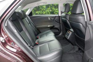 Toyota Avalon rear seat