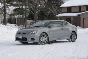 Scion tC Exterior Grey