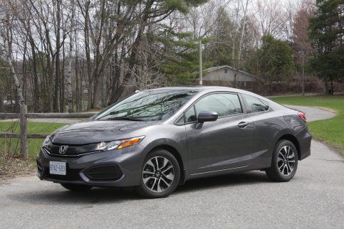 Honda Civic Coupe Grey
