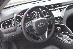 2019 Toyota Camry Hybrid Drivers View