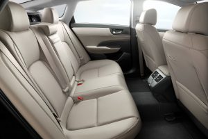 Honda Clarity Backseat