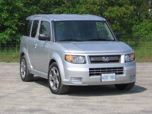 Honda Element Exterior View
