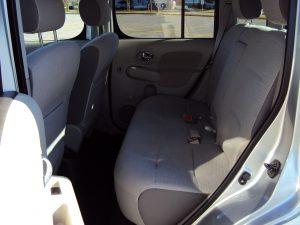 Nissan Cube Interior Back Row