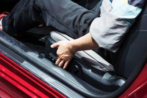 Adjusting the Driver Side Seat