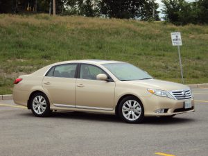 Beige Toyota Avalon