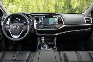 2019 Toyota Highlander Centre Console