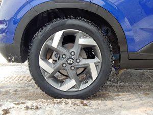 2020 Hyundai Venue Wheel Well