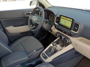 2020 Hyundai Venue Interior