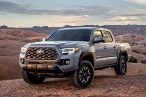 2020 Toyota Tacoma Pickup Truck Grey