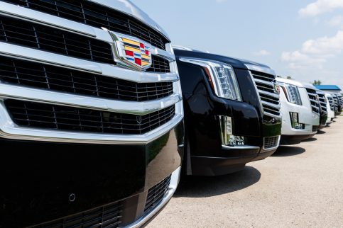 Cadillac Automobile Dealership. Cadillac is the Luxury Division of General Motors I
