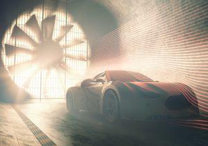 Wind Tunnel Concept Car