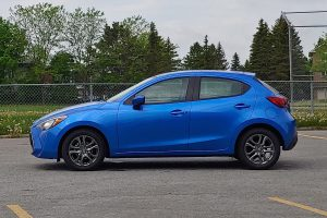2020 Toyota Yaris Sideview