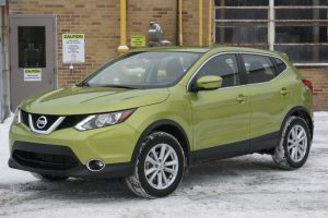 Nissan Qashqai alternatively called the Rouge Sport