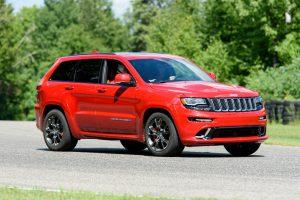 Jeep Grand Cherokee SRT Red