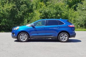 2020 Ford Edge Driver Side View