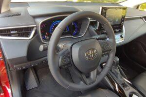 2021 Toyota Corolla Hybrid Steering Wheel