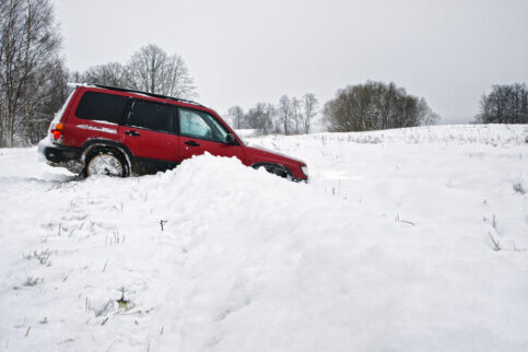 Getting out of a Snowbank