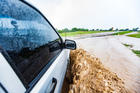 Dangers of Driving Through Deep Water
