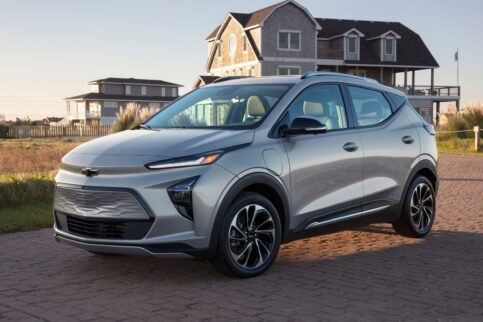 Electric Crossovers under $50,000